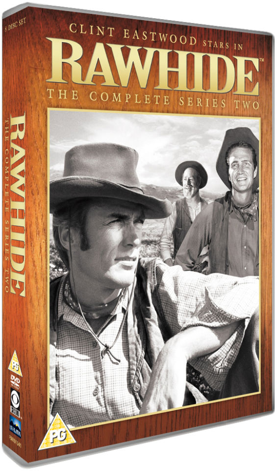 rawhide the complete series two dvd zavvi. Black Bedroom Furniture Sets. Home Design Ideas