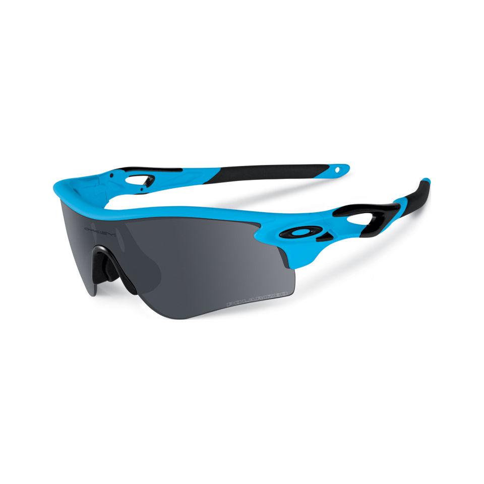 034e681d10 Oakley Radarlock Path Sunglasses - Matte Glacier Black Iridium Polarised