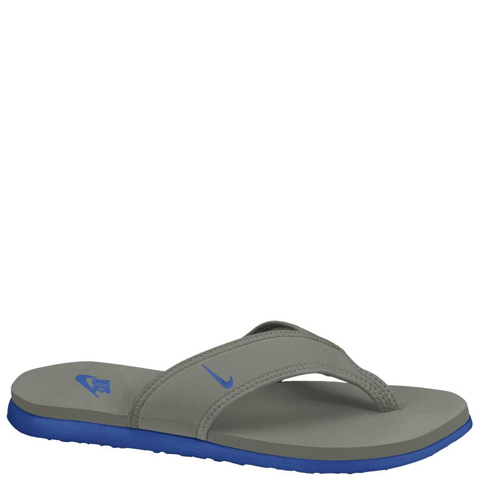 2d8124833c0 Nike Men s Celso Thong Plus Flip Flops - Grey Blue