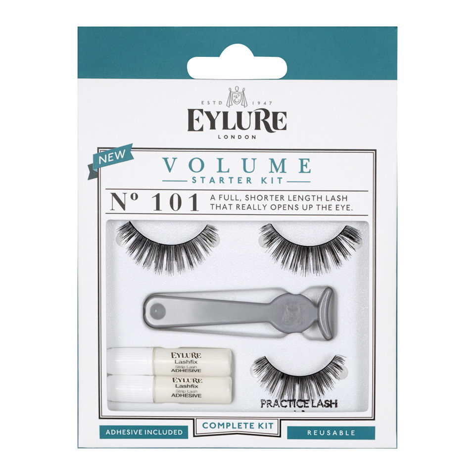 3dfede1113a Eylure Lashes Starter Kit No. 101 (Volume) | Free Shipping | Lookfantastic