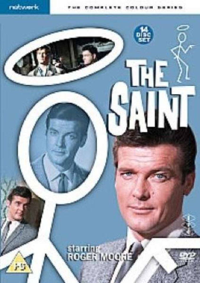Roger Moore The Saint >> The Saint - The Complete Colour Series [Box Set] DVD | Zavvi