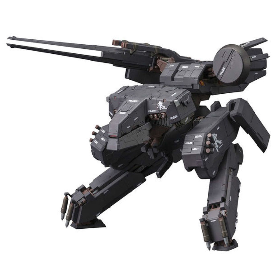 Kotobukiya Metal Gear Solid Rex Black Ver Plastic Model Kit