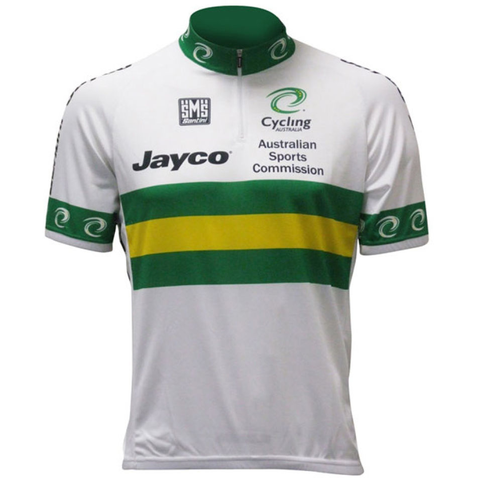 Santini Australia National Team SS Cycling Jersey - 2013 ... f9a203379