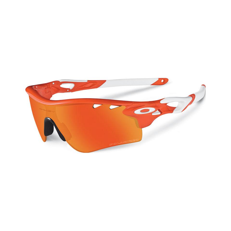 6df9091aca Oakley Radarlock Path Sunglasses - Blood Orange Fire Iridium Polarised