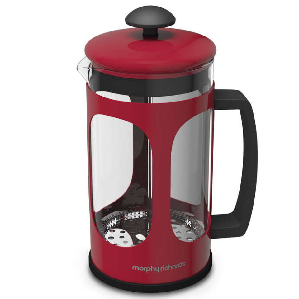 Morphy Richards Red Kitchen Accessories: Morphy Richards Equip Cafetiere - Red Homeware