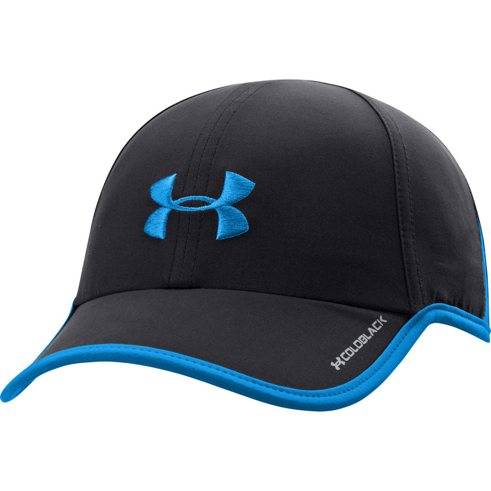 Under Armour Men s Shadow Cap - Black Electric Blue. Description 9c3b3b679b6