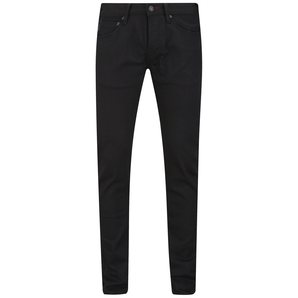 849393a2 ... Paul Smith Jeans Men's Slim Fit Unwashed Black Stretch Denim Jeans -  Black