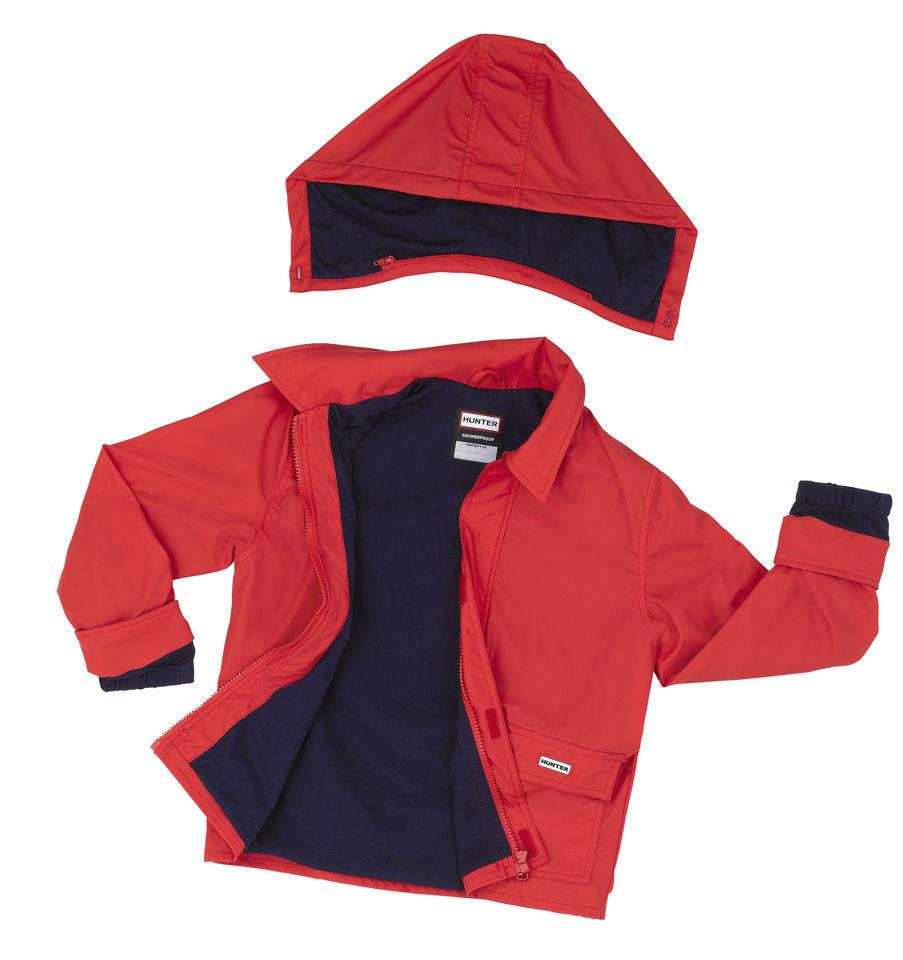 hunter kids rain coat