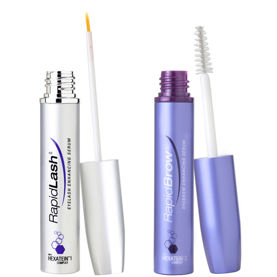 dfe2c7a12cf RapidLash & RapidBrow Eyelash & Eyebrow Enhancing Serum Duo | Free Shipping  | Lookfantastic