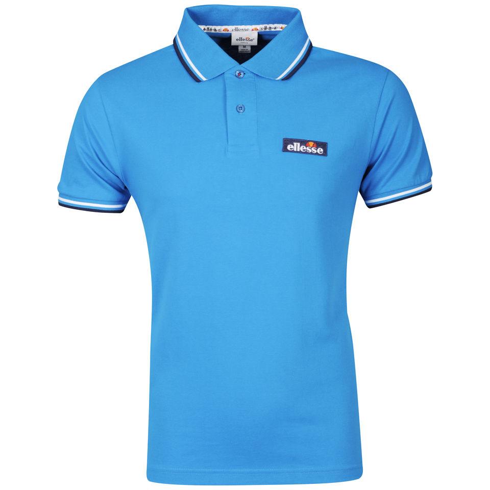 a77ff0bb02 Ellesse Men's Challenge Polo Shirt - Blue