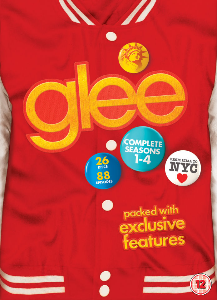 Glee - Seasons 1-4