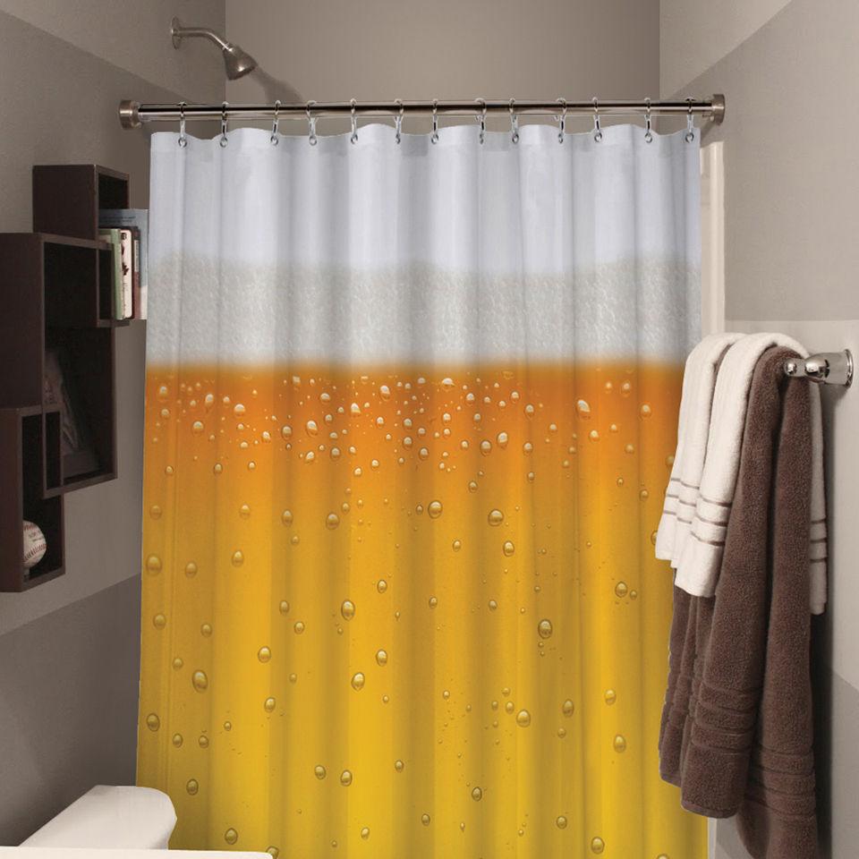 Beer O\'Clock Beer Shower Curtain | IWOOT