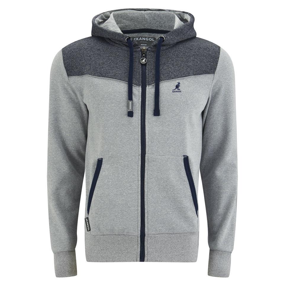911753a4 Kangol Men's Basset Hoody - Grey Grindle Mens Clothing   Zavvi Australia