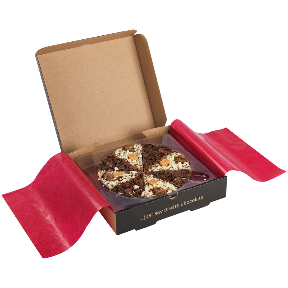 The Gourmet Chocolate Pizza Company Double Delight 7 Zoll Pizza