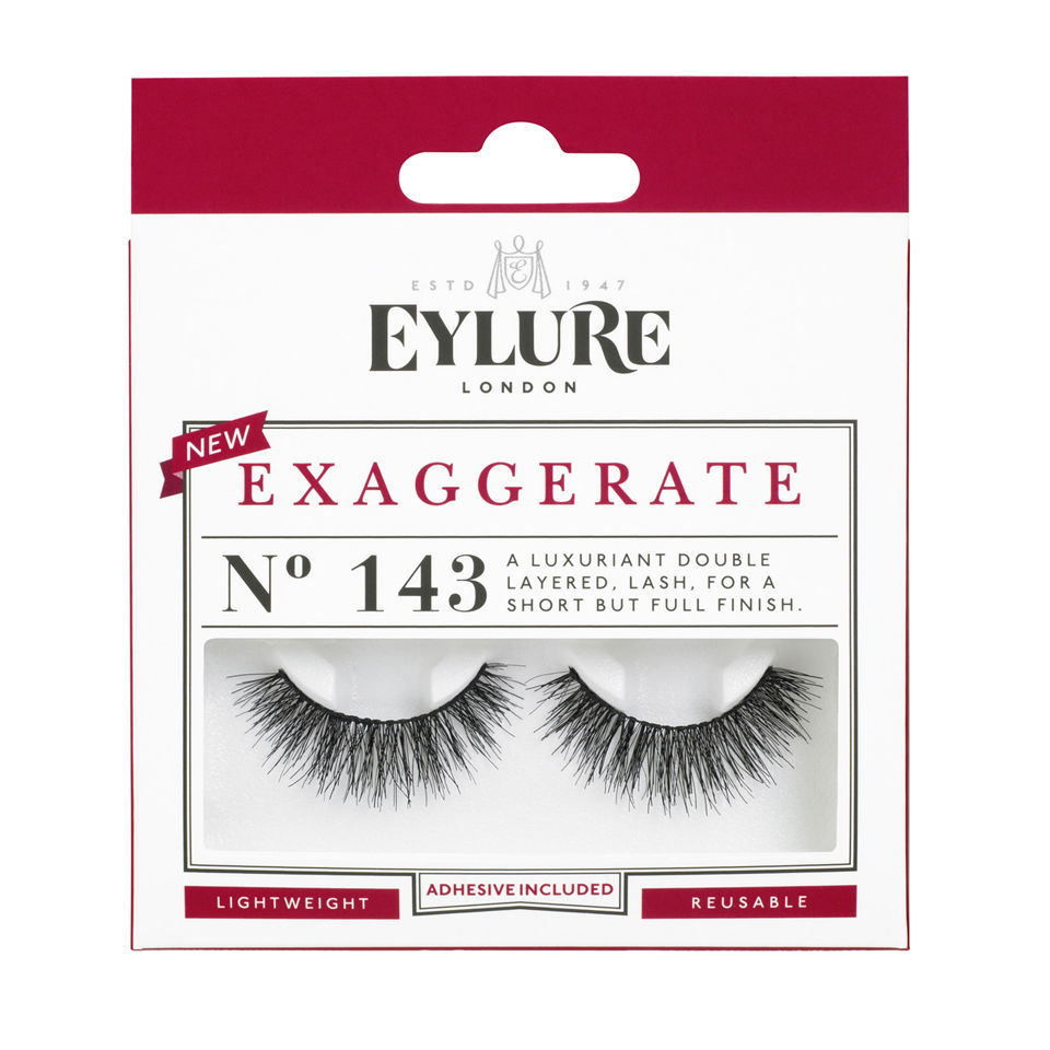 15a8f58c88f Eylure Lashes No. 143 (Exaggerate) | Free Shipping | Lookfantastic