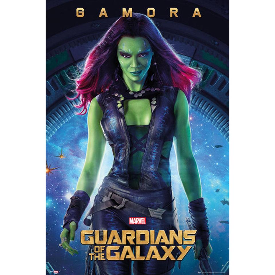 Guardians Of The Galaxy Gamora Maxi Poster 61 X 91 5cm