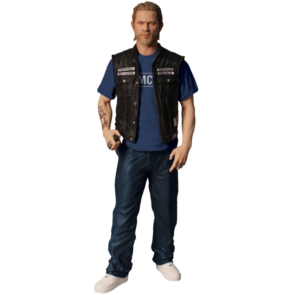 sons of anarchy jax teller samcro t shirt 6 inch action. Black Bedroom Furniture Sets. Home Design Ideas