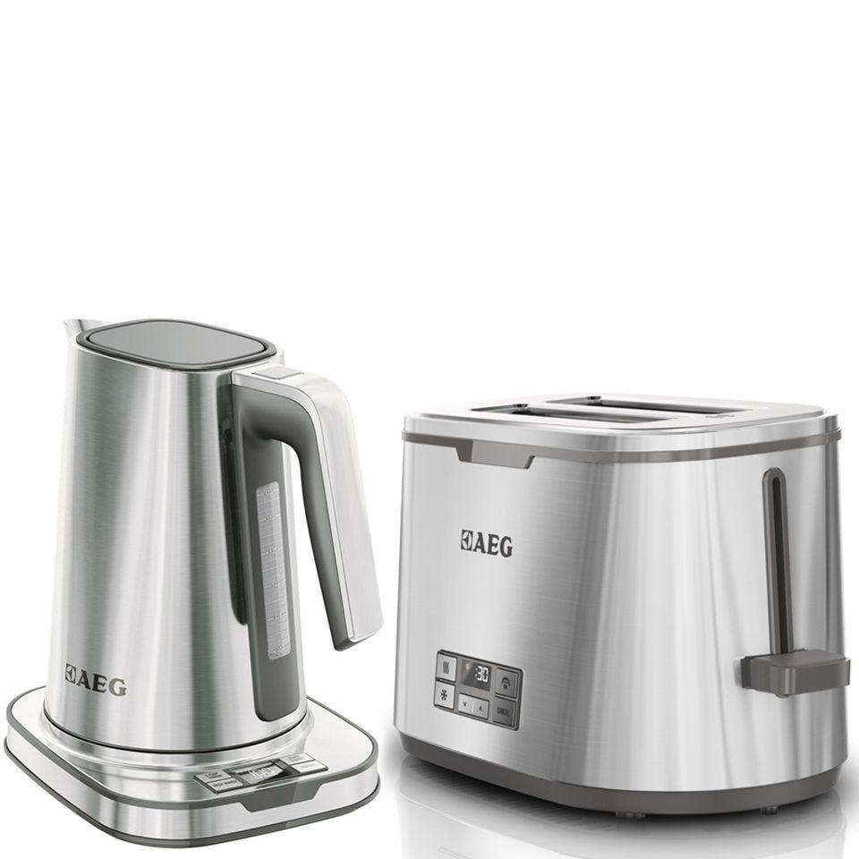 AEG Series 7 Toaster and Kettle Bundle - Stainless Steel