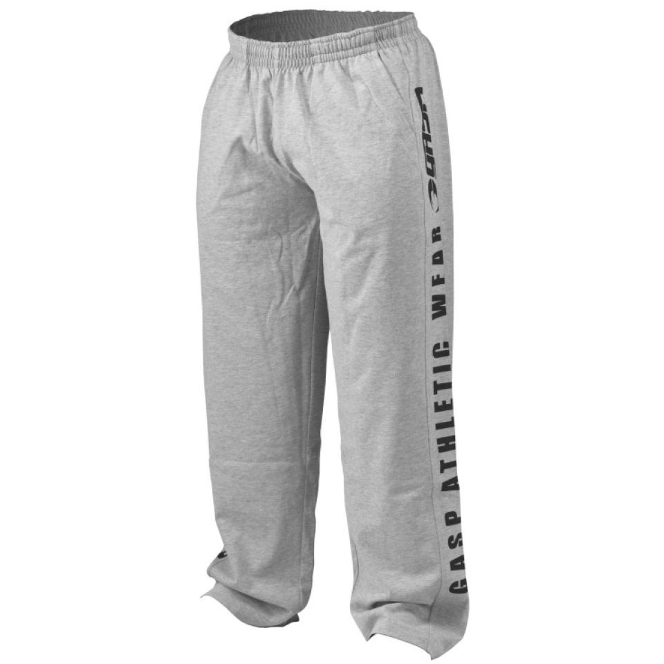 GASP Jersey Training Pants - Grey