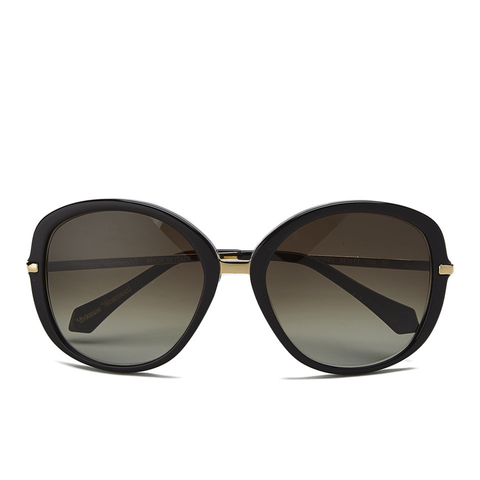 048819c3b9f3 Vivienne Westwood Oversized Sunglasses - Black Vivienne Westwood Oversized  Sunglasses - Black