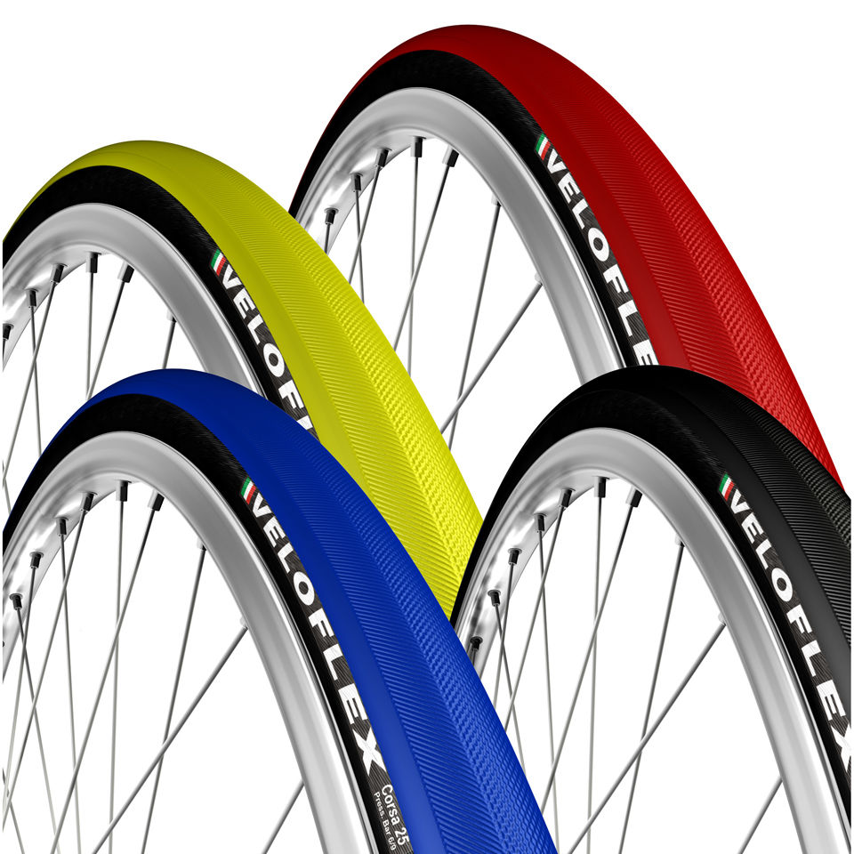 Veloflex Corsa 25 Folding Road Tyre - Blue - 700 x 25mm