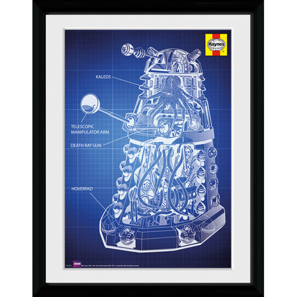 Doctor Who Dalek - 30x40 Collector Prints