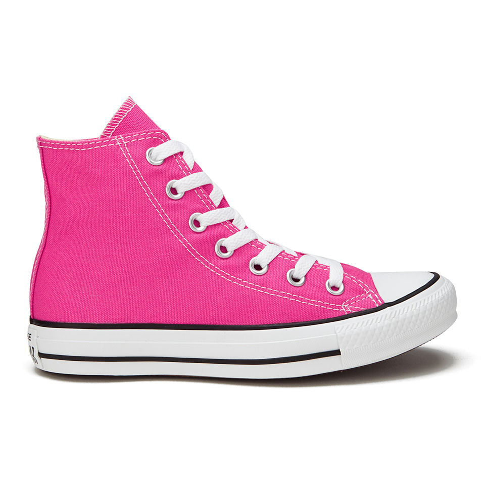 1af80d58581c9a ... Converse Women s Chuck Taylor All Star Canvas Hi-Top Trainers - Pink  Paper