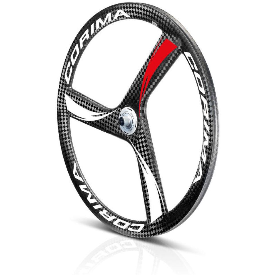 corima 3 spoke tubular carbon wheel
