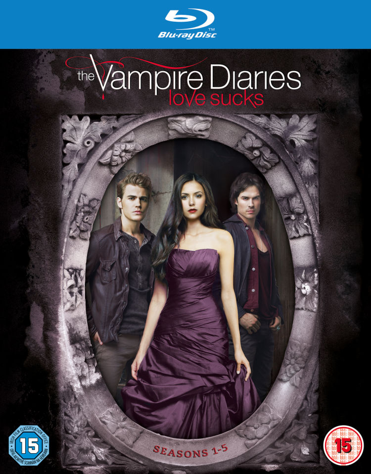 The Vampire Diaries Seasons 1 5 Blu Ray Zavvide