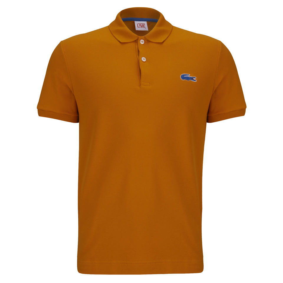 62533ab408aaa Lacoste Live Men s Polo Shirt - Paprika - Free UK Delivery over £50