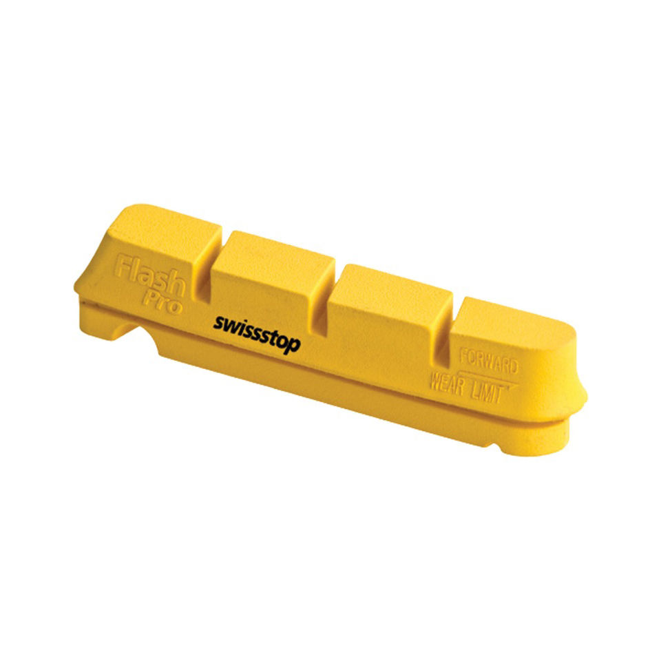 SwissStop FlashPro Brake Blocks - Yellow King