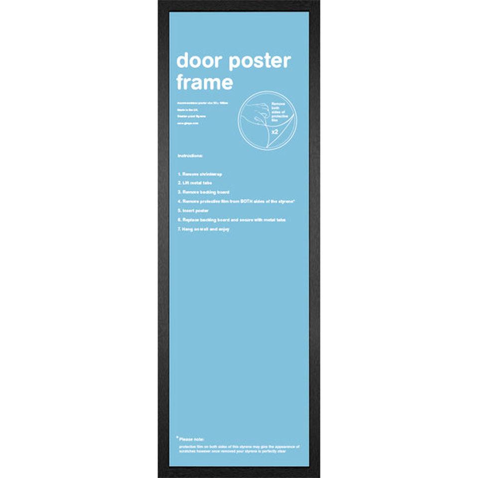 Black Frame Door - 53 x 158cm Merchandise | Zavvi