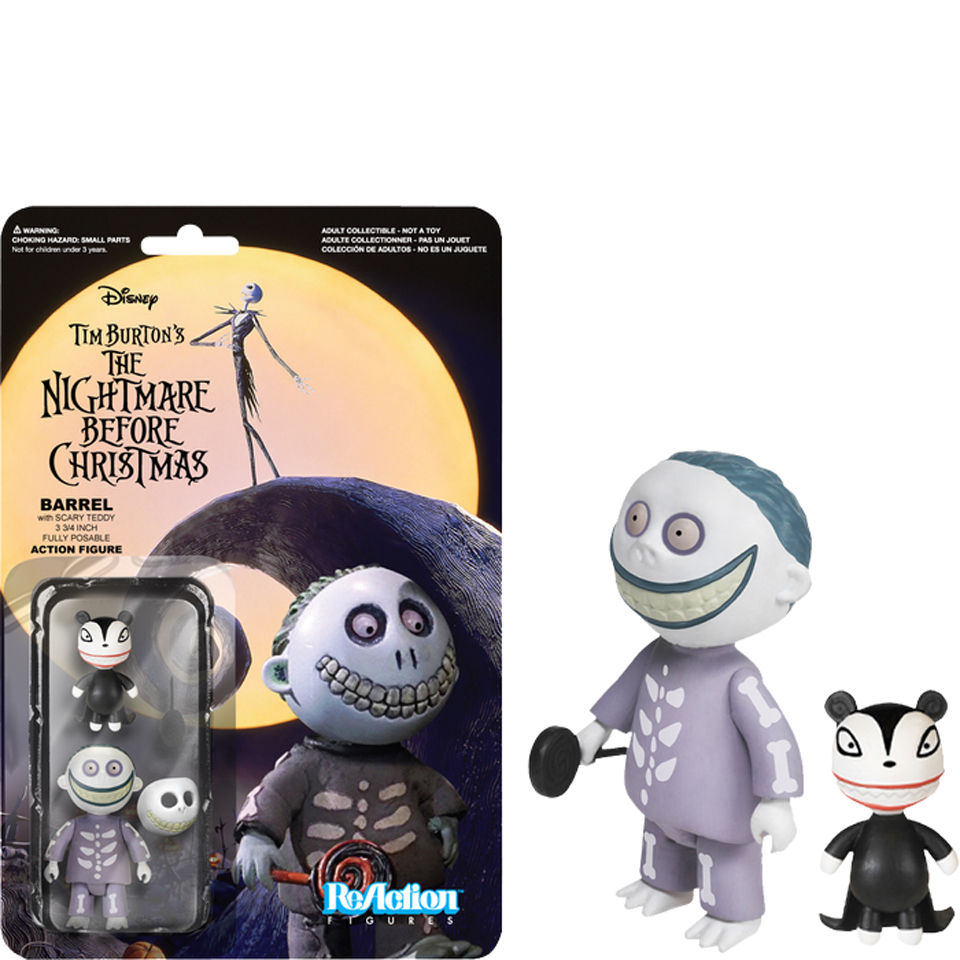 ReAction The Nightmare Before Christmas - Barrel - 3 3/4\