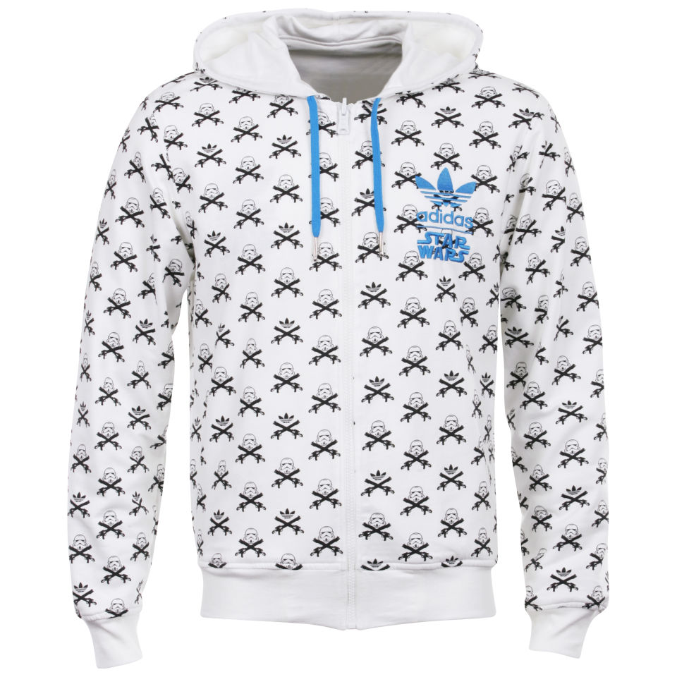 adidas Star Wars Reversible Hooded Tracktop White