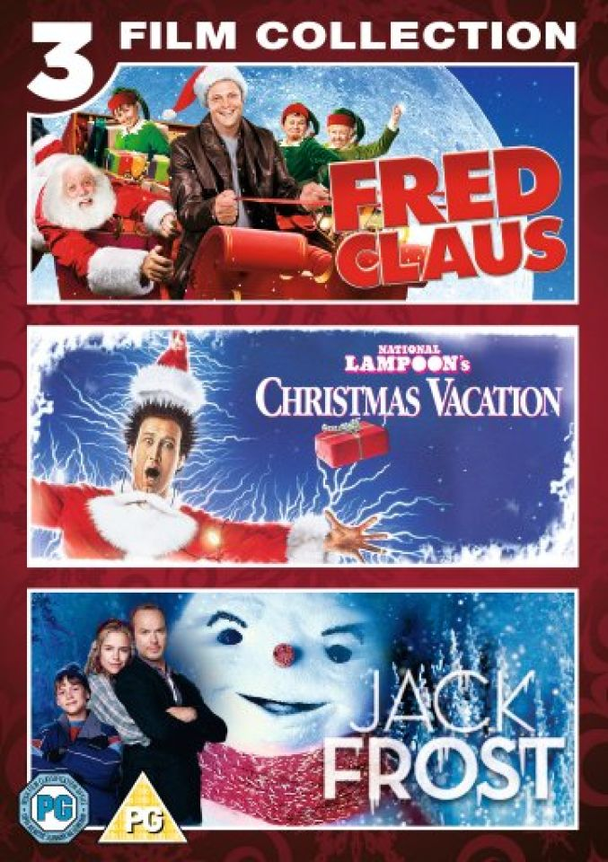 triple christmas box set jack frost happy feet fred claus dvd zavvi - Fred Christmas