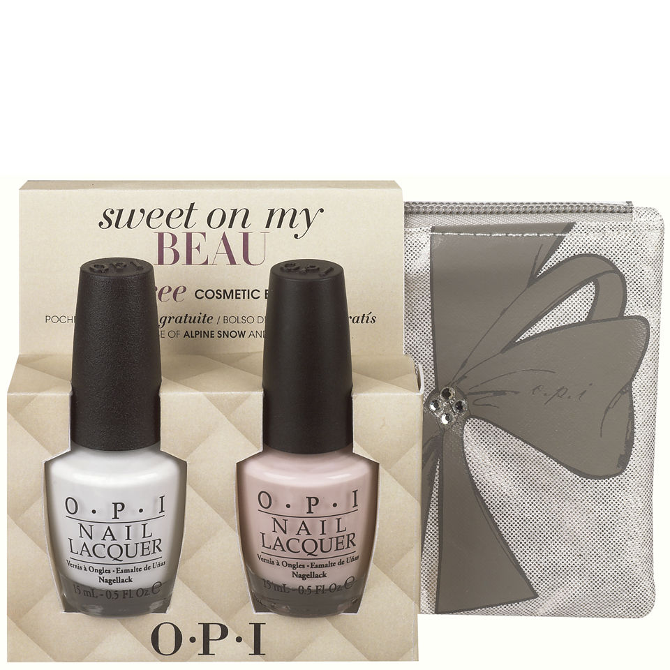Opi Sweet On My Beau Gift Set 2x15ml