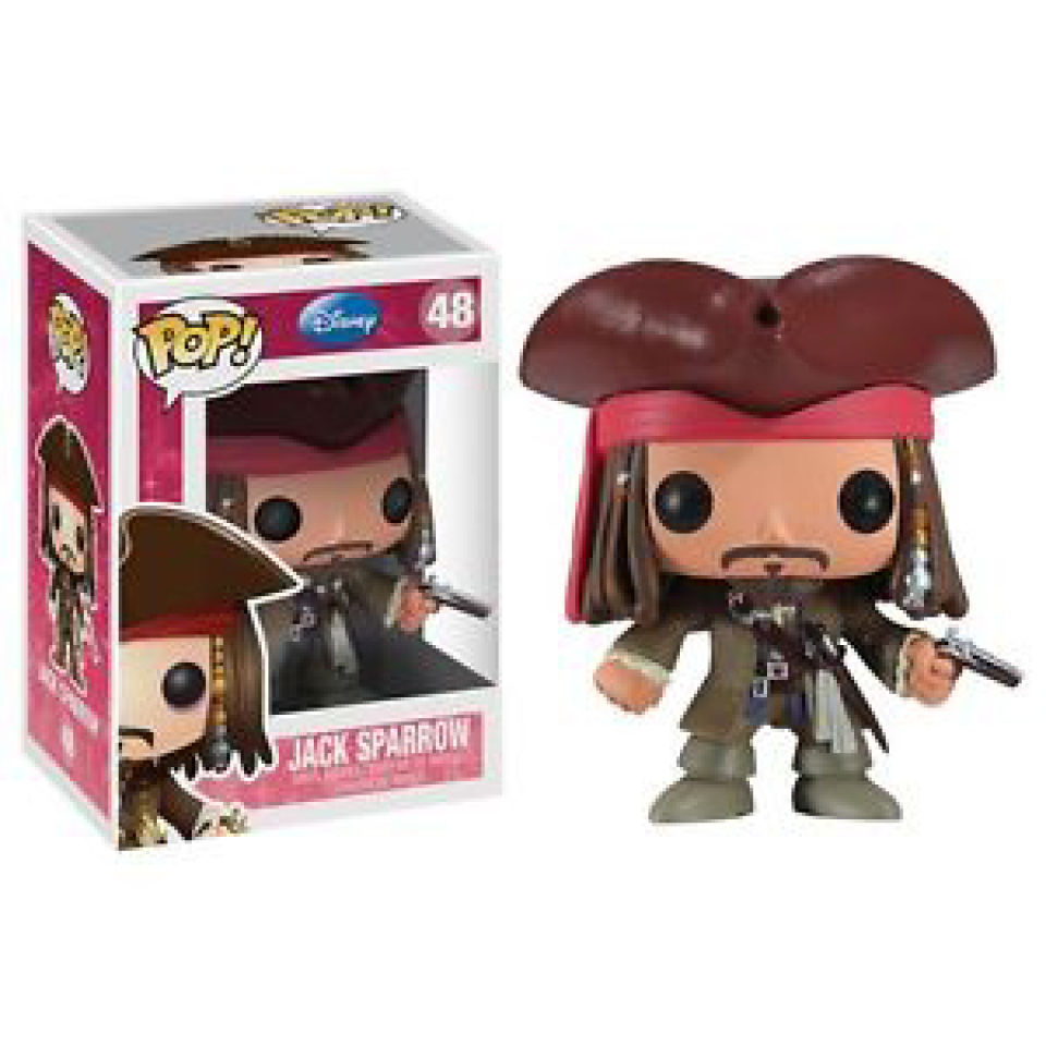 Figurine Funko Pop! Disney Pirates des Caraïbes Jack Sparrow