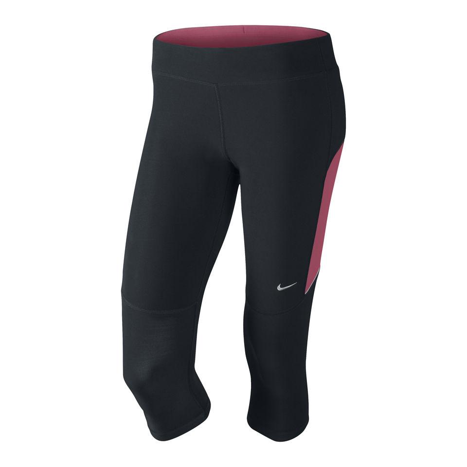 b0f16fc7806a Nike Women s Filament Running Capri Tights - Black