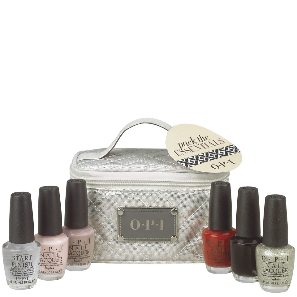 Opi Pack The Essentials Gift Set 6x15ml