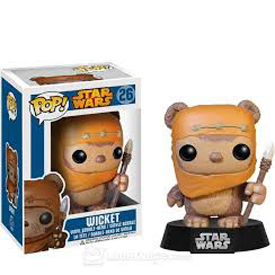 Figurine Pop! Star Wars Wicket