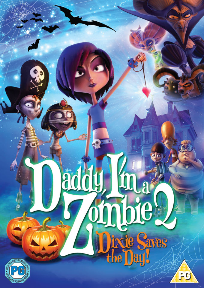 Daddy I M A Zombie 2 Dixie Saves The Day Dvd Zavvi