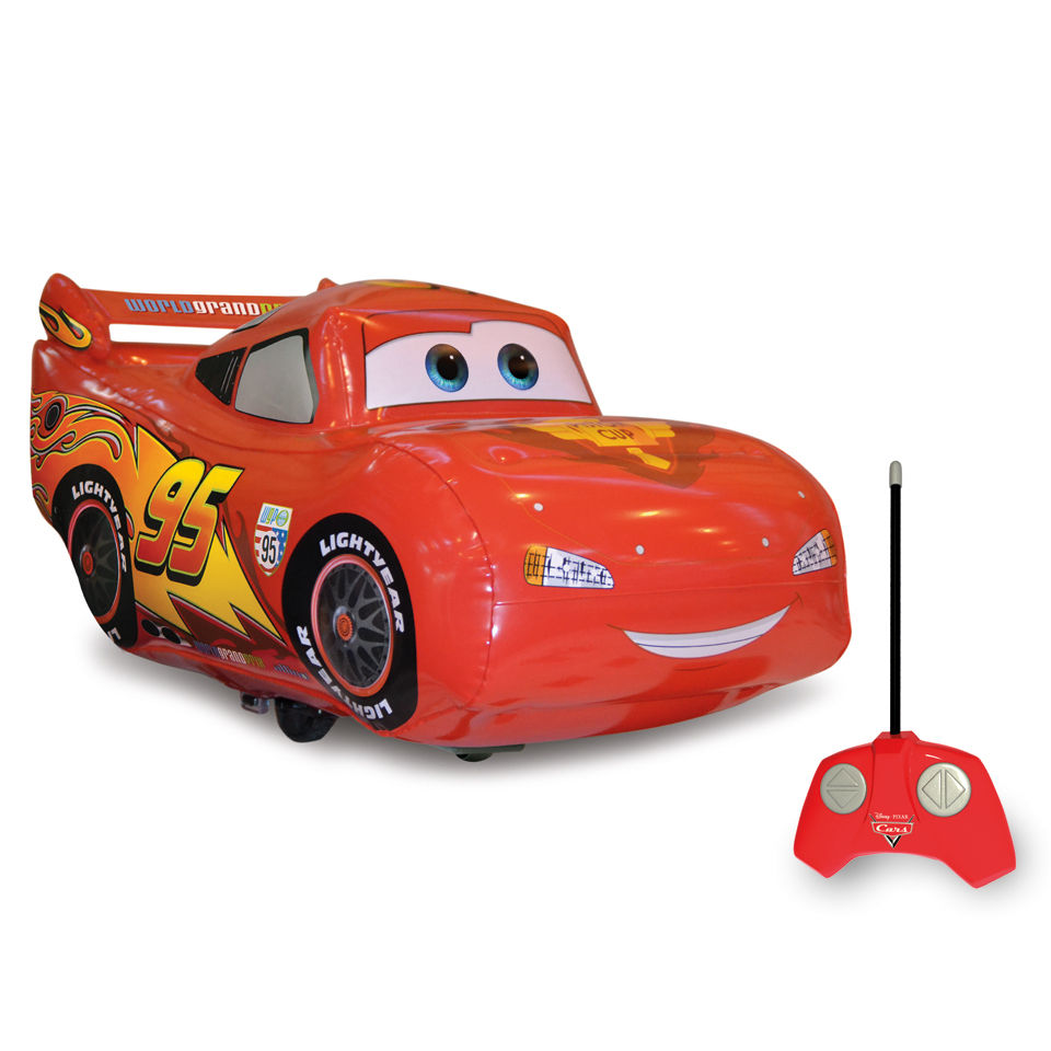 Disney Cars Jumbo Inflatable RC Lightning McQueen Toys