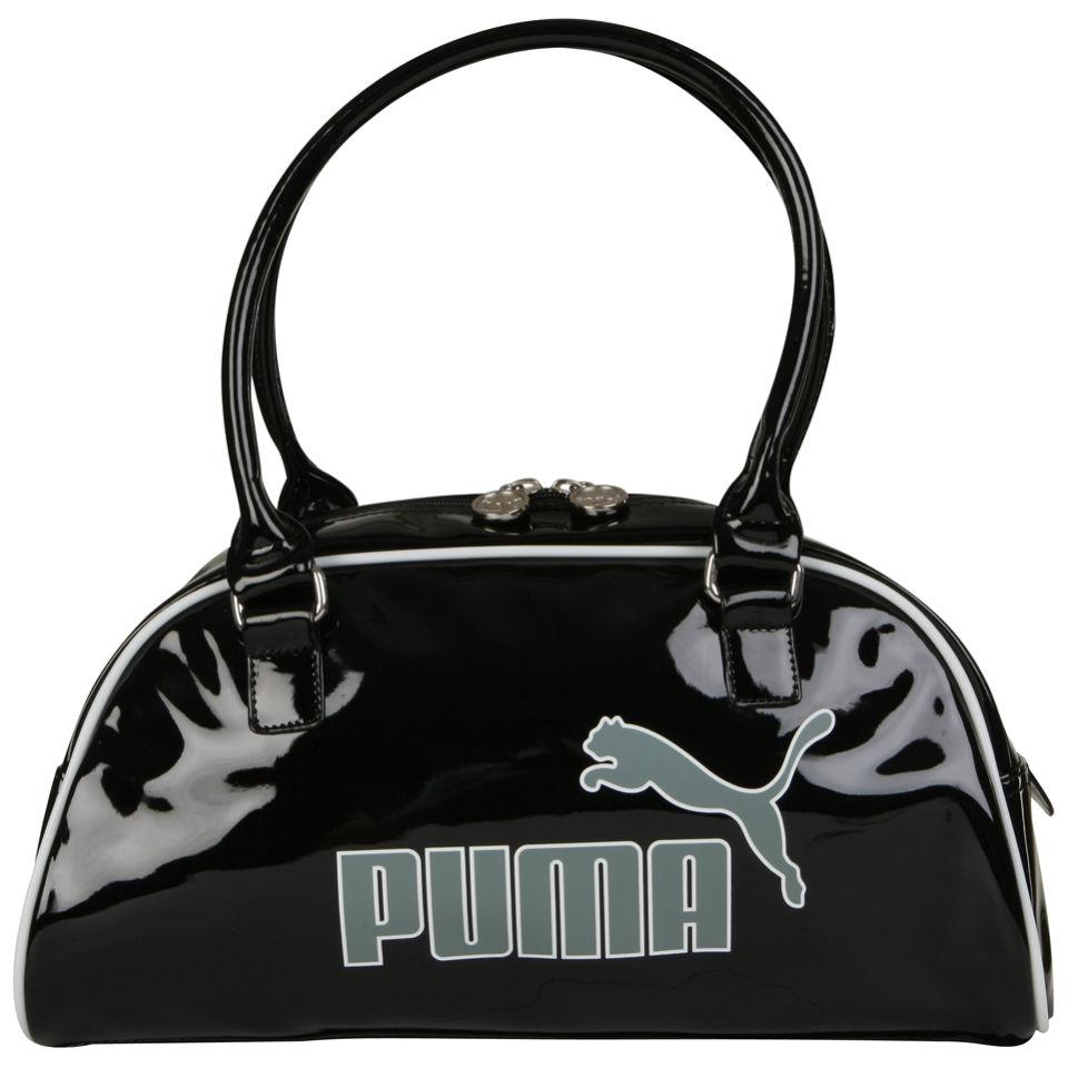 f80a3fe5b53063 Puma Men's Special Evo Handbag - Black/Light Grey Mens Accessories   Zavvi