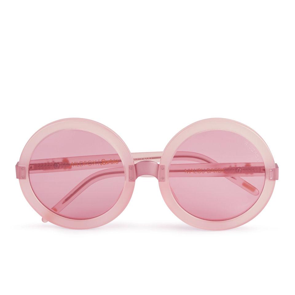 e21bb55ee9 Wildfox Women s Malibu Barbie Sunglasses - Pink - Free UK Delivery ...