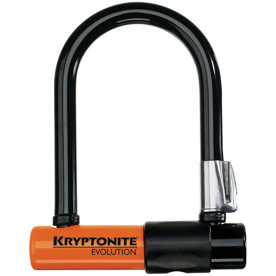 Kryptonite Evolution Mini-5 and FlexFrame U Bracket Lock