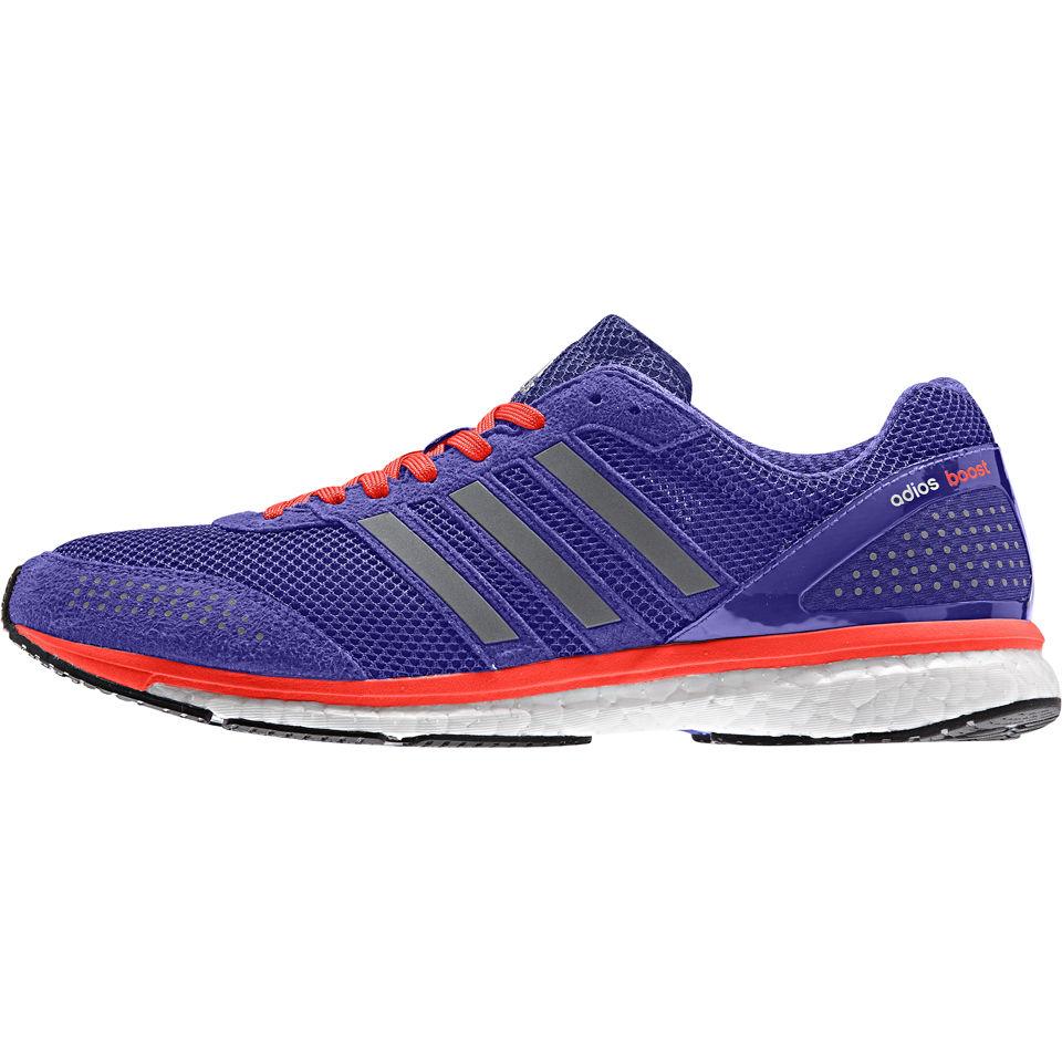 newest f4b6e 8b88a adidas Mens Adizero Adios Boost 2 Running Shoes - PurpleSilver