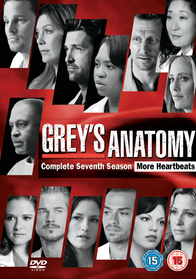 Greys Anatomy - Season 7 DVD   Zavvi
