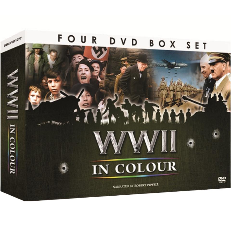 World War 2 in Colour - Gift Set