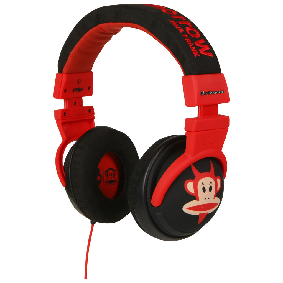 Lujo Crítico O  Skullcandy: Hesh Over-Ear Headphone (Paul Frank Devil Julius) - IWOOT UK