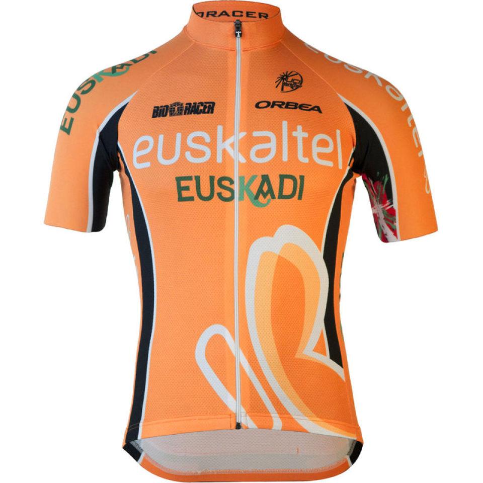dd69c554a Euskaltel Euskadi Team Full Zipp SS Jersey - 2013